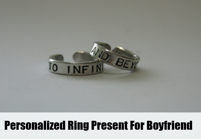 buying a ring for your boyfriend
