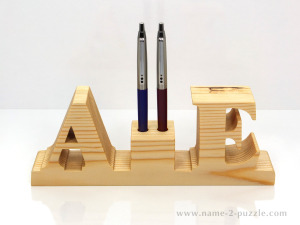 Wooden pen holders (1)
